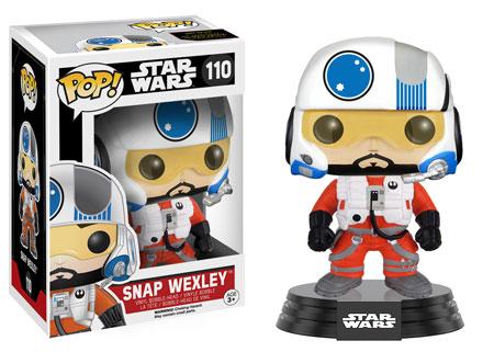Star Wars Episode VII POP! Vinyl Bobble-Head Figure Snap Wexley 9 cm