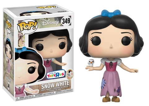 Snow White and the Seven Dwarfs POP! Disney Vinyl Figure Snow White (Maid Outfit) 9 cm (con bollino Exclusive)