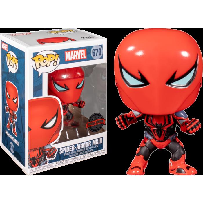 Spider-Man POP! Vinyl Figure Spider-Armor MKIII Limited 9 cm