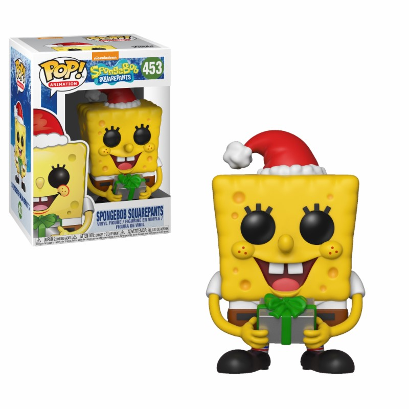SpongeBob SquarePants POP! Vinyl Figure SpongeBob Xmas 9 cm