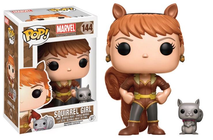 Marvel Comics POP! Marvel Vinyl Figure Squirrel Girl 9 cm