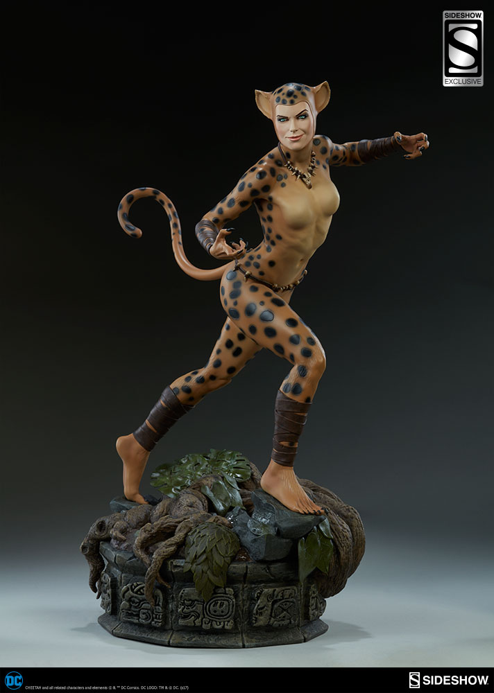 DC Comics Premium Format Cheetah Statue Variant 48 cm