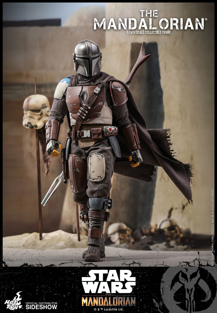 Star Wars The Mandalorian Action Figure 1/6 The Mandalorian 30 cm