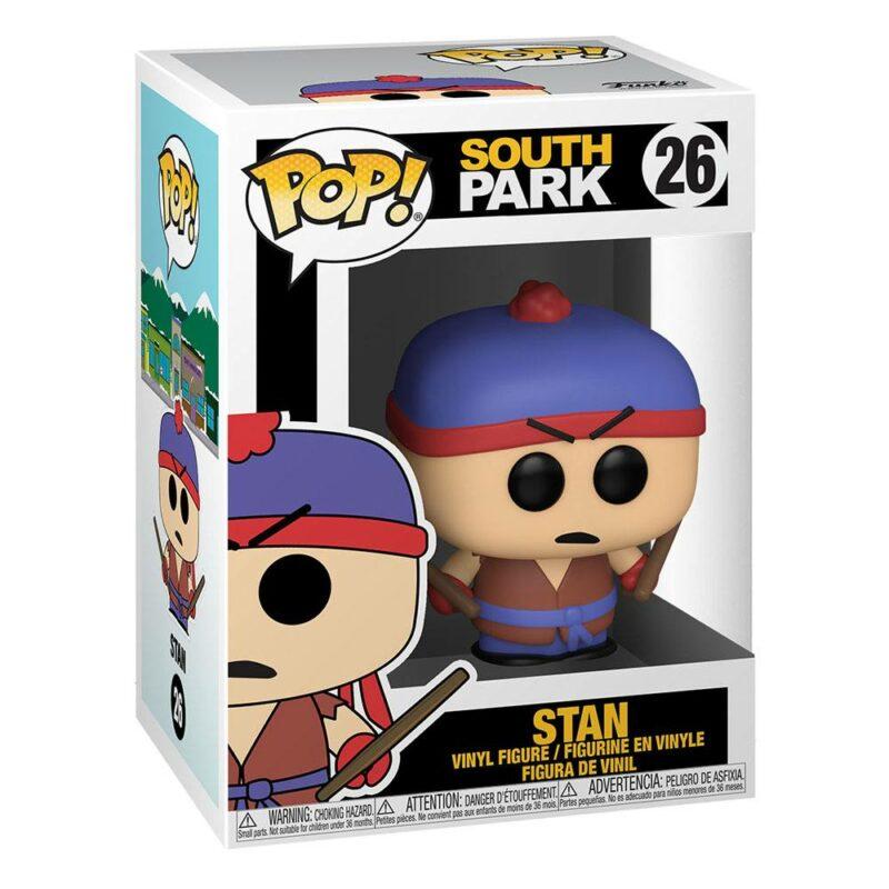 South Park POP! Television Vinyl Figure Shadow Hachi Stan 9 cm