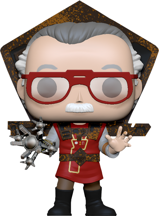 Stan Lee POP! Icons Vinyl Figure Stan Lee in Ragnarok Outfit 9 cm