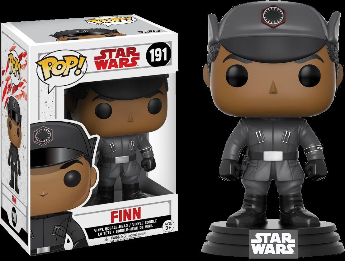 Star Wars Episode VIII: The Last Jedi Pop! Vinyl Figure Finn in Disguise 9 cm