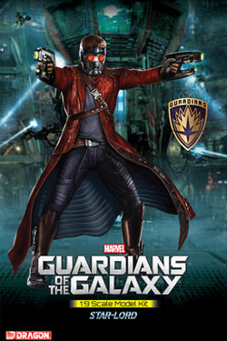 Guardians of the Galaxy Star Lord 1/9 Scale Model kit 20 cm