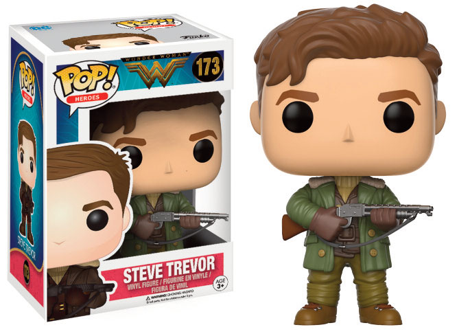 Wonder Woman Movie POP! Heroes Vinyl Figure Steve Trevor 9 cm