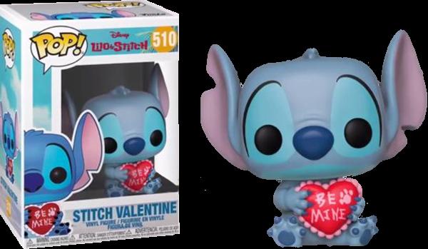 Lilo e Stitch POP! Vinyl Figure Stitch Valentine Limited 9 cm