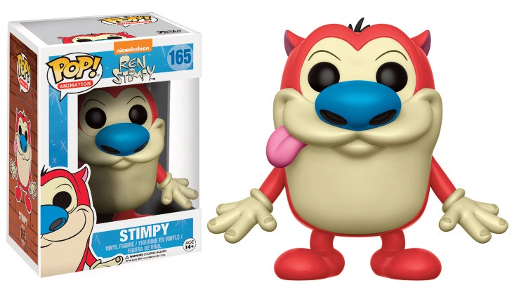 Ren & Stimpy POP! Animation Vinyl Figure Stimpy 9 cm