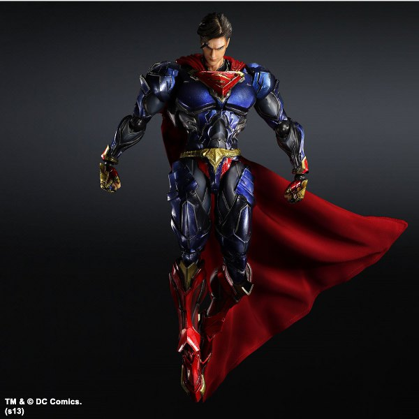DC Comics Variant Play Arts Kai Vol. 3 Action Figure Superman 27 cm