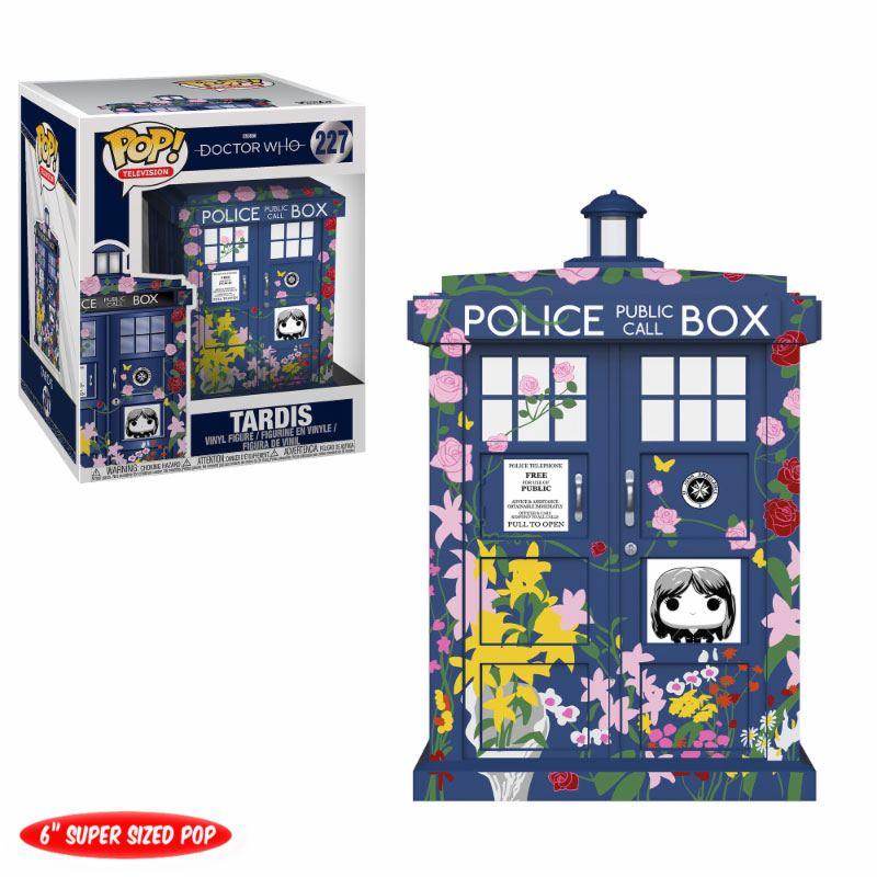 Doctor Who Oversized POP! TV Vinyl Figure Clara's Memorial Tardis 15 cm