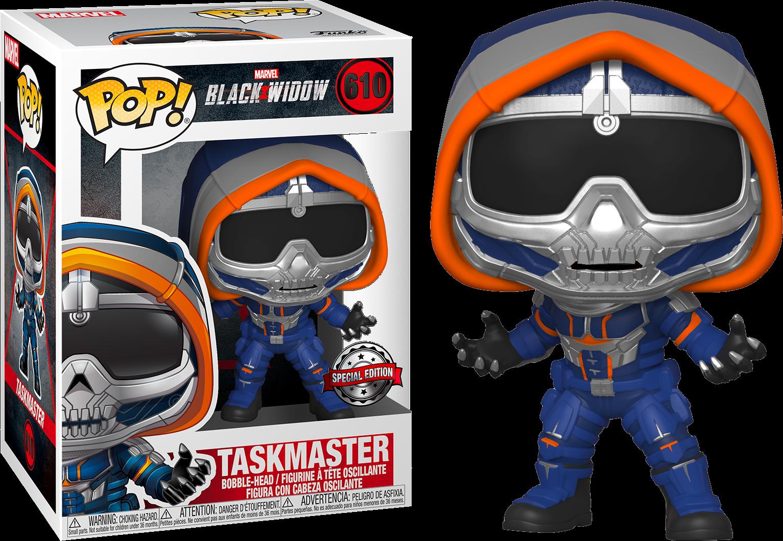 Black Widow POP! Marvel Vinyl Figure Taskmaster with Claws Limited 9 cm