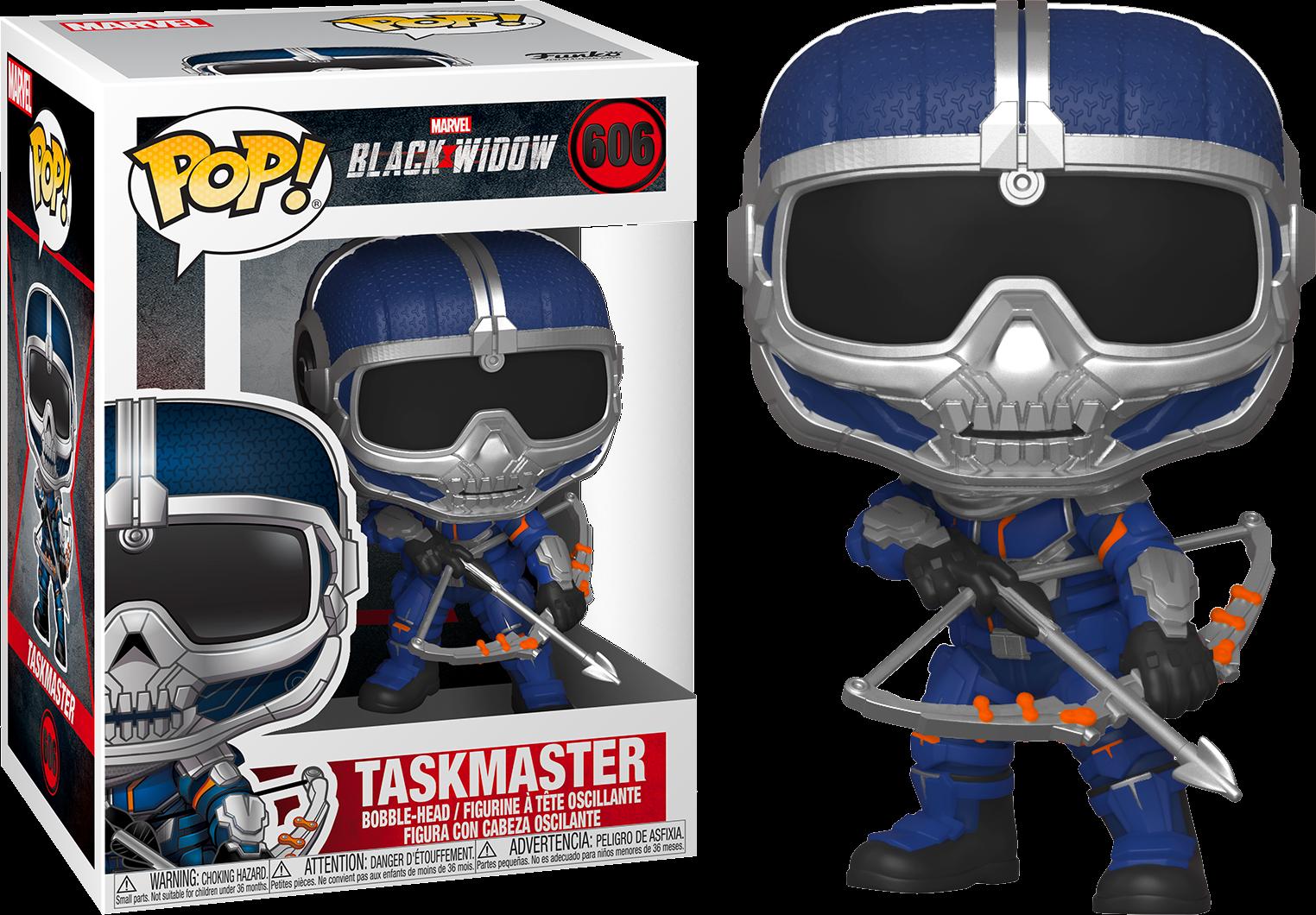 Black Widow POP! Marvel Vinyl Figure Taskmaster w/ Bow 9 cm