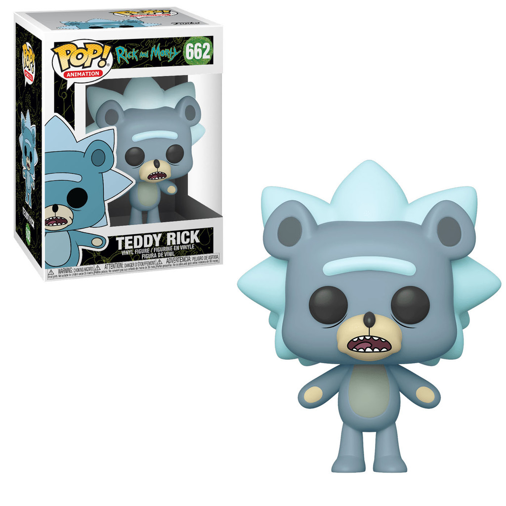 Rick and Morty POP! Animation Figures Teddy Rick 9 cm