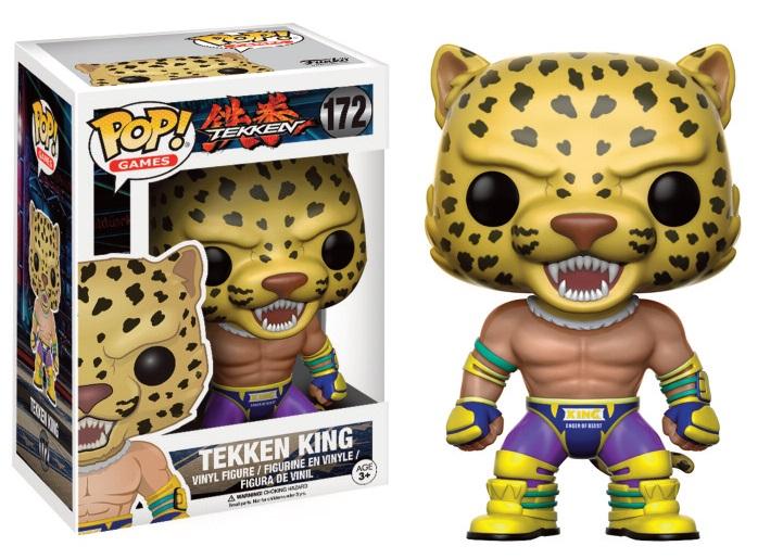 Tekken POP! Games Vinyl Figure King 9 cm
