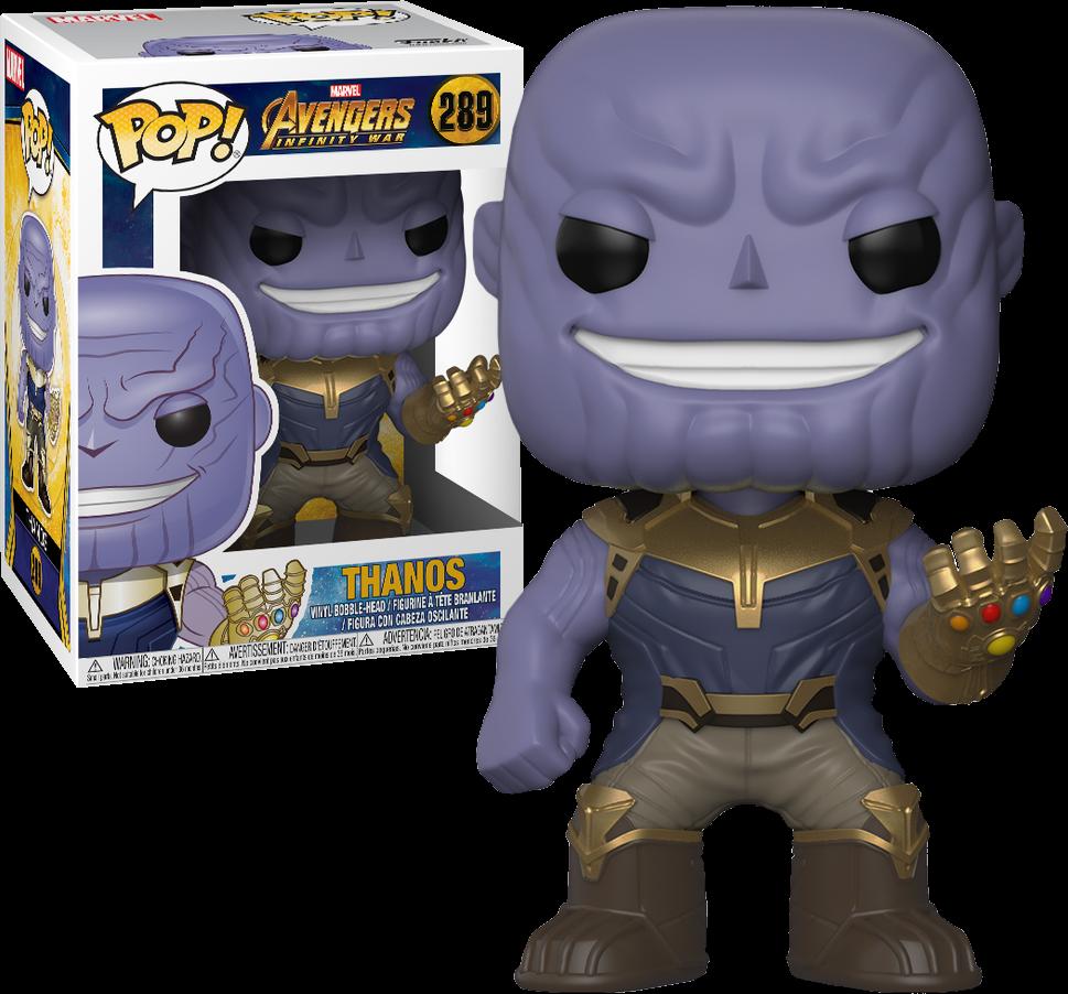 Avengers Infinity War POP! Marvel Vinyl Figure Thanos 9 cm