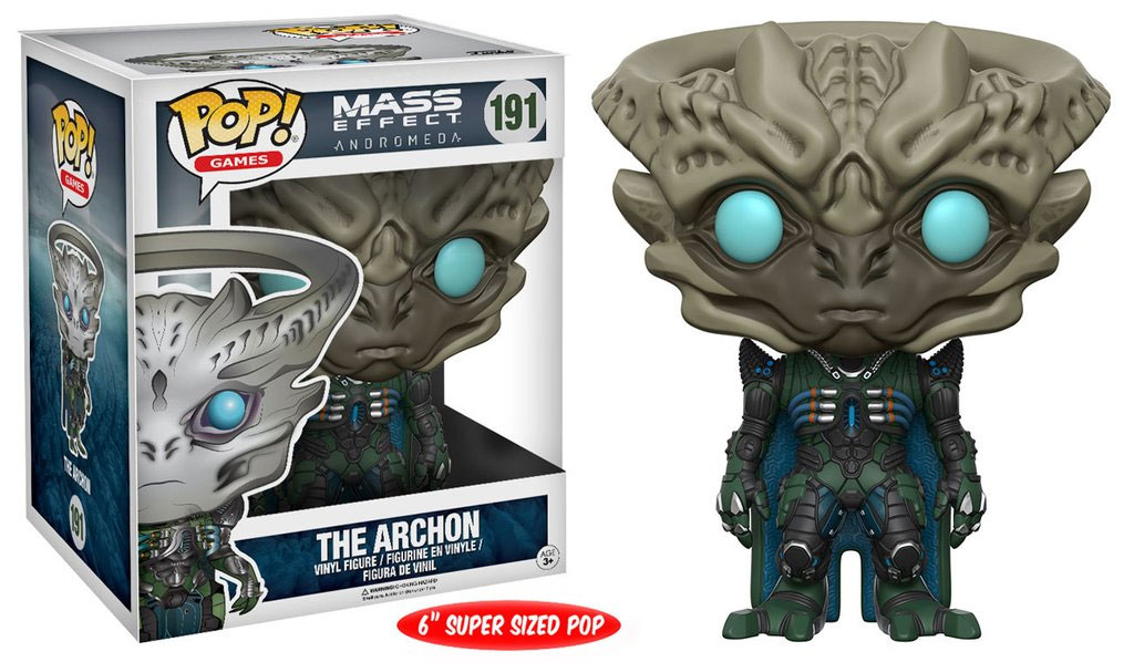 Mass Effect Andromeda Super Sized POP! Movies Vinyl Figure The Archon 15 cm