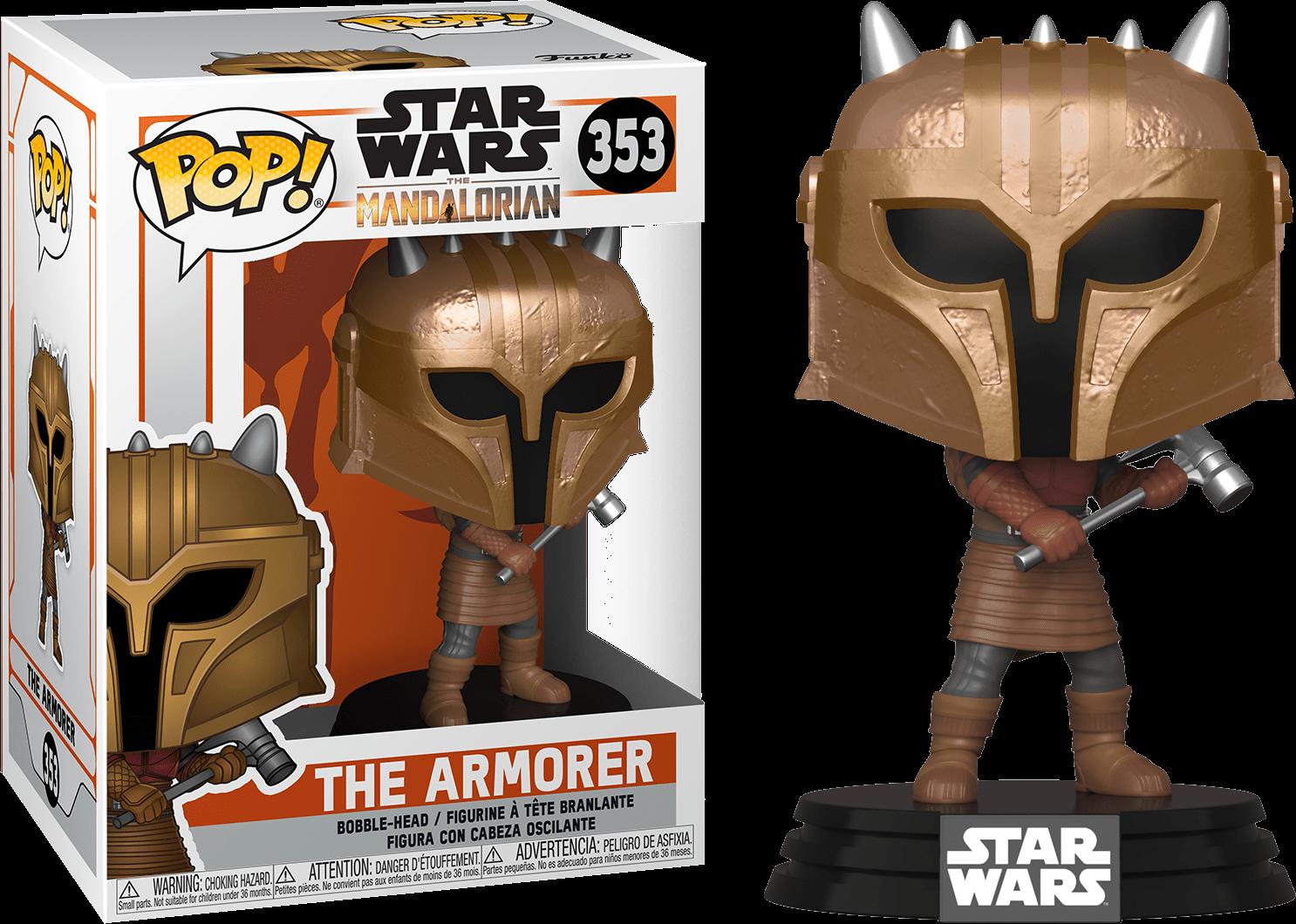 Star Wars The Mandalorian POP! TV Vinyl Figure The Armorer 9 cm