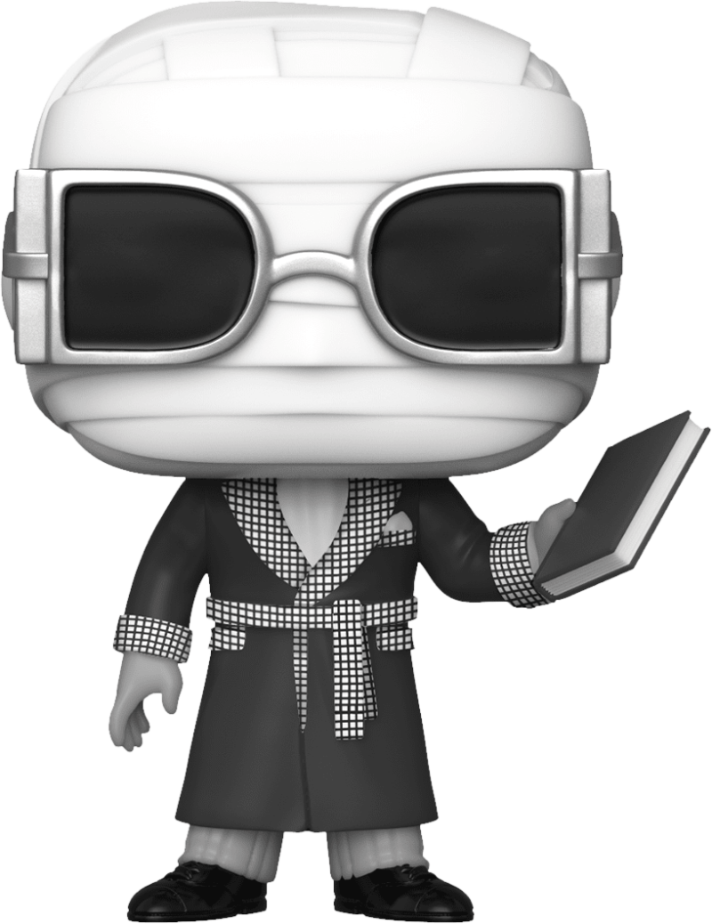 Universal Monster POP! Vinyl Figure Invisible Man Black & White Limited 9 cm