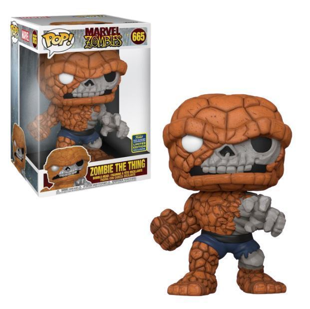 Marvel Zombies POP! Supersized Vinyl Figure Zombie The Thing 25 cm (2020 Summer Convention Exclusive)