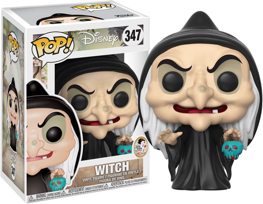 Snow White and The Seven Dwarfs POP! Disney Vinyl Figure Witch 9 cm