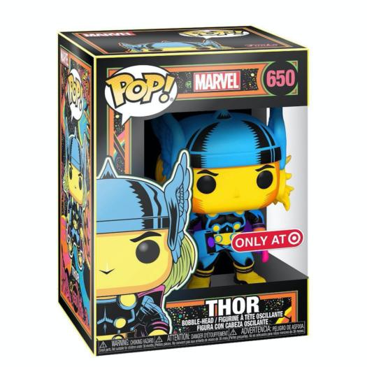 Marvel: Black Light POP! Vinyl Figure Thor Limited (con bollino Spedial Edition Exclusive)