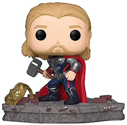 The Avengers POP! Deluxe Vinyl Figure Thor Avengers Assemble Diorama Limited