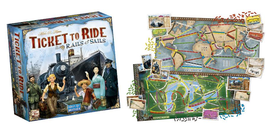 Ticket to Ride! Vagoni e Velieri