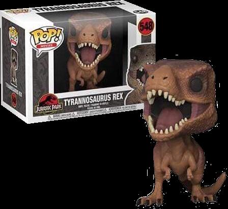Jurassic Park - Movie Pop! Vinyl Figure Tyrannosaurus Rex 9 cm
