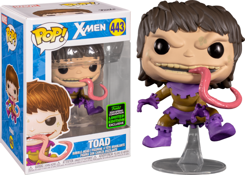 X-Men POP! Vinyl Figure Toad Limited 9 cm (con bollino Spring Convention 2020)