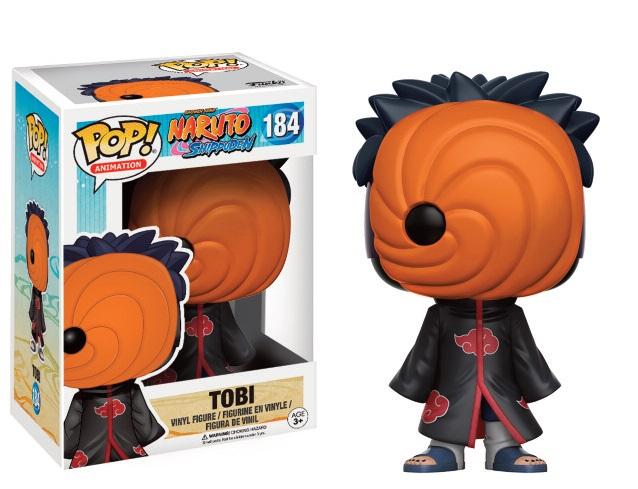 Naruto Shippuden POP! Animation Vinyl Figure Tobi 9 cm