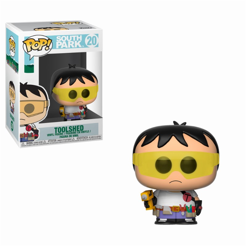 South Park POP! TV Vinyl Figure Toolshed 9 cm