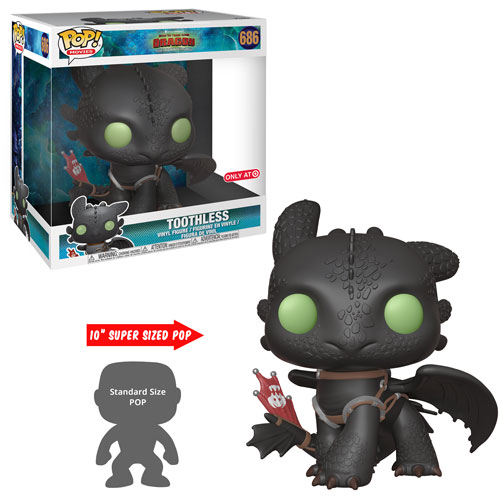 How to Train Your Dragon 3 POP! Vinyl Figure Oversized Toothless 25 cm