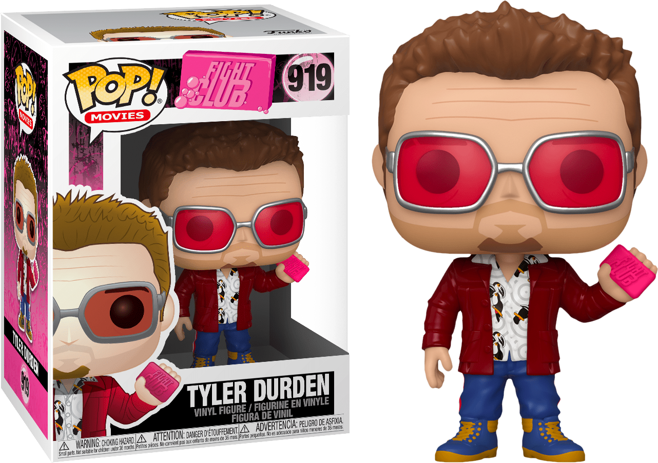 Fight Club POP! Movies Vinyl Figures Tyler Durden 9 cm