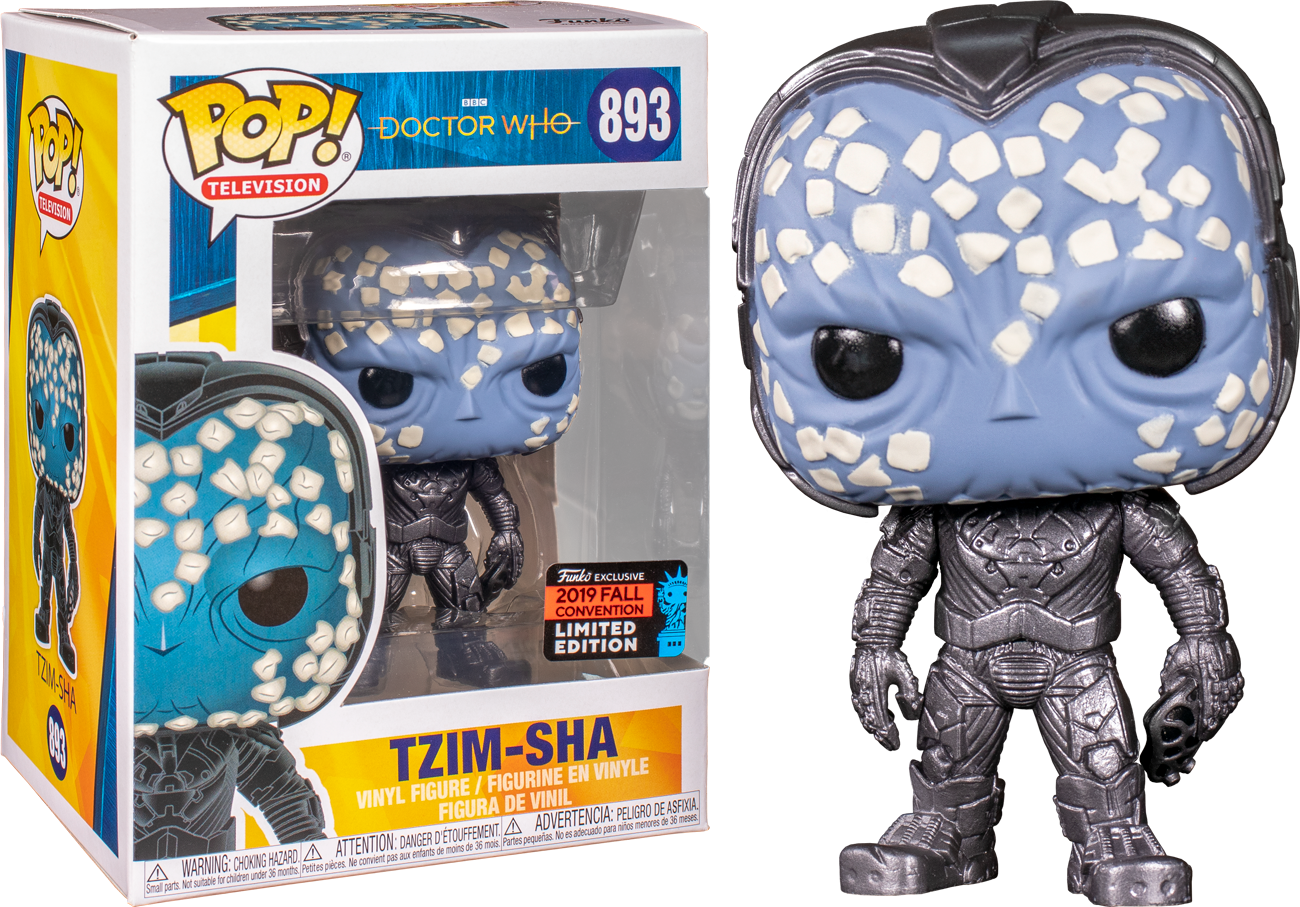 Doctor Who POP! Vinyl Figure Tzim-Sha Exclusive Edition 9 cm (con bollino Fall Convention 2019)