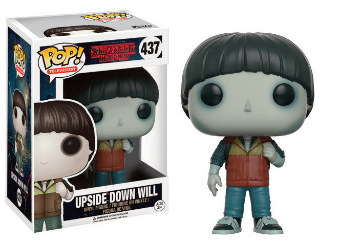 Stranger Things POP! Television Vinyl Figure Upside Down Will Limited Edition 9 cm