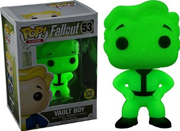 Games #53 POP - Fallout - Glow in the Dark Vault Boy Limited Edition 9 cm
