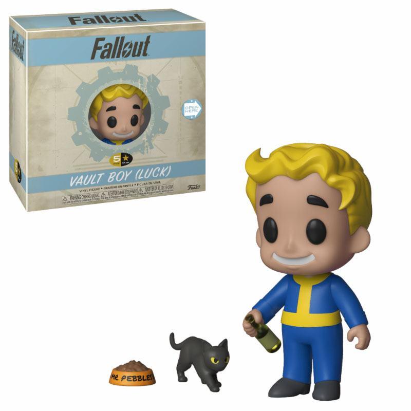 Fallout 5-Star Vinyl Figure Vault Boy (Luck) 8 cm