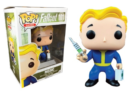 Fallout POP! Games Vinyl Figure Vault Boy Medic 9 cm