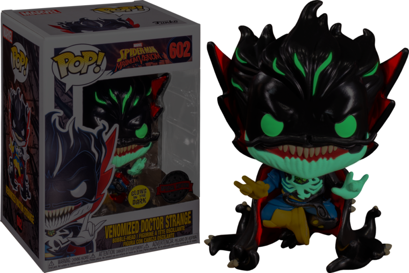 Venom POP! Marvel Vinyl Bobble-Head Venomized Doctor Strange LImited 9 cm