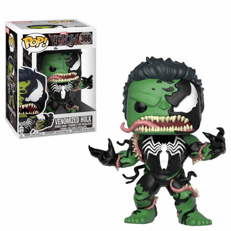 Venom POP! Marvel Vinyl Bobble-Head Venomized Hulk 9 cm