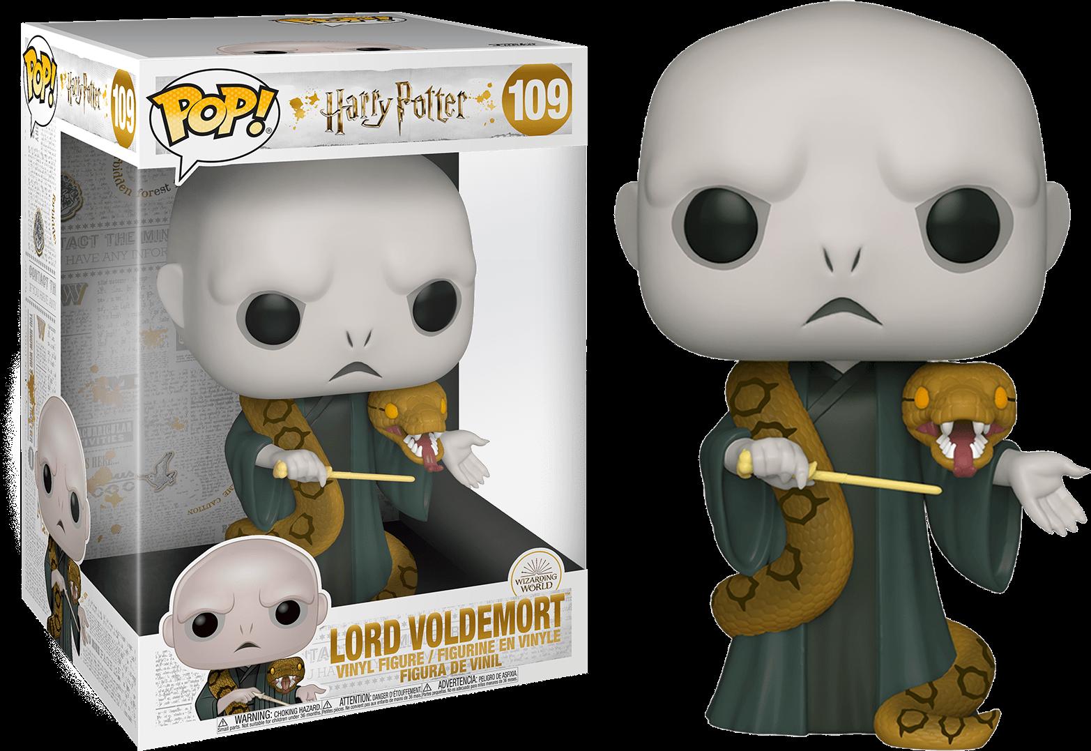 Harry Potter POP! Movies Supersized Vinyl Figure Voldemort with Nagini 25 cm