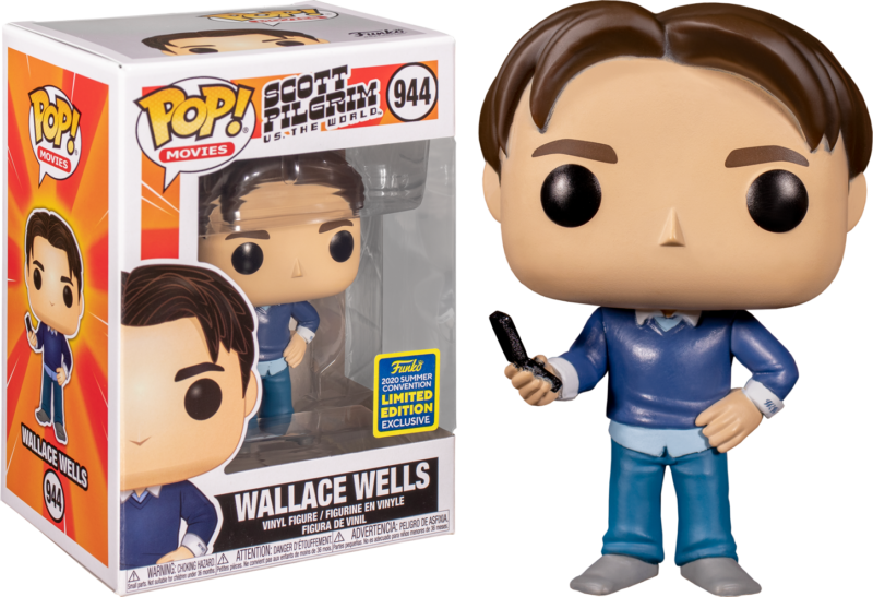 Scott Pilgrim vs. the World POP! Vinyl Figure Wallace Wells 9 cm (2020 Summer Convention Exclusive)