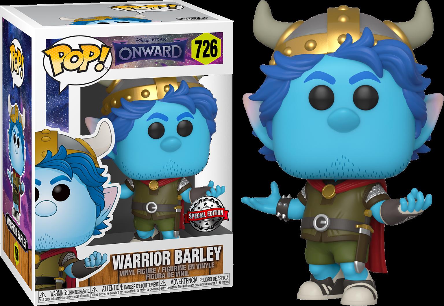 Onward POP! Disney Vinyl Figure Warrior Barley Limited 9 cm