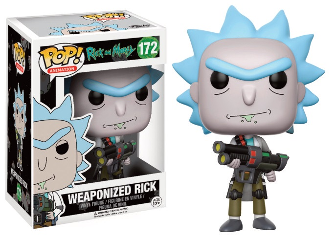 Rick and Morty POP! Animation Figures Weaponized Rick 9 cm