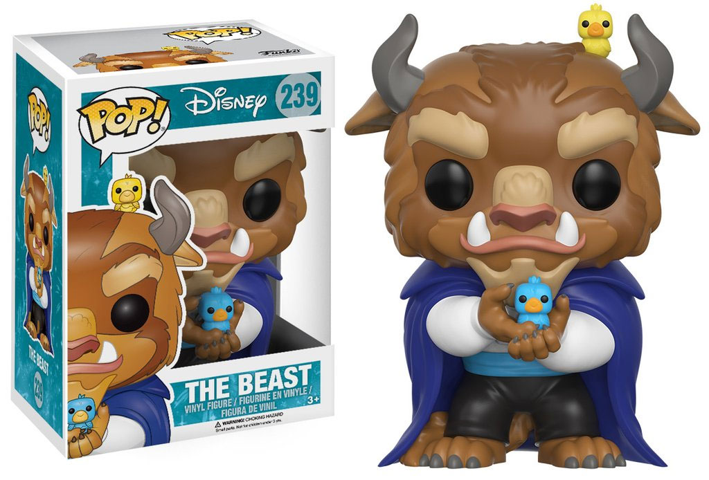 Beauty and the Beast POP! Disney Vinyl Figure Winter Beast 9 cm