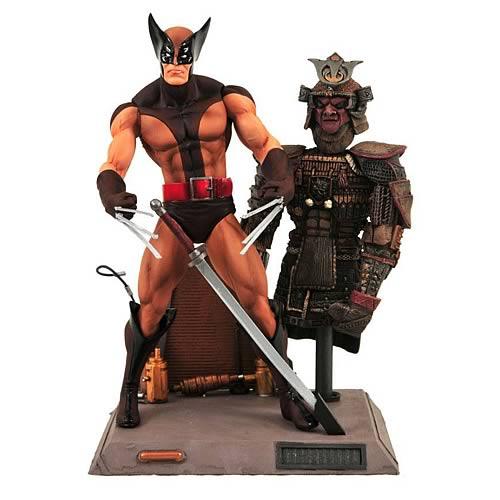 Marvel Select Brown Wolverine Action Figure 18 cm