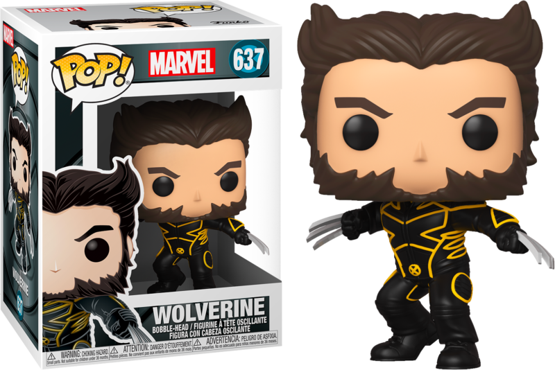 X-Men 20th Anniversary POP! Marvel Vinyl Figure Wolverine In Jacket 9 cm
