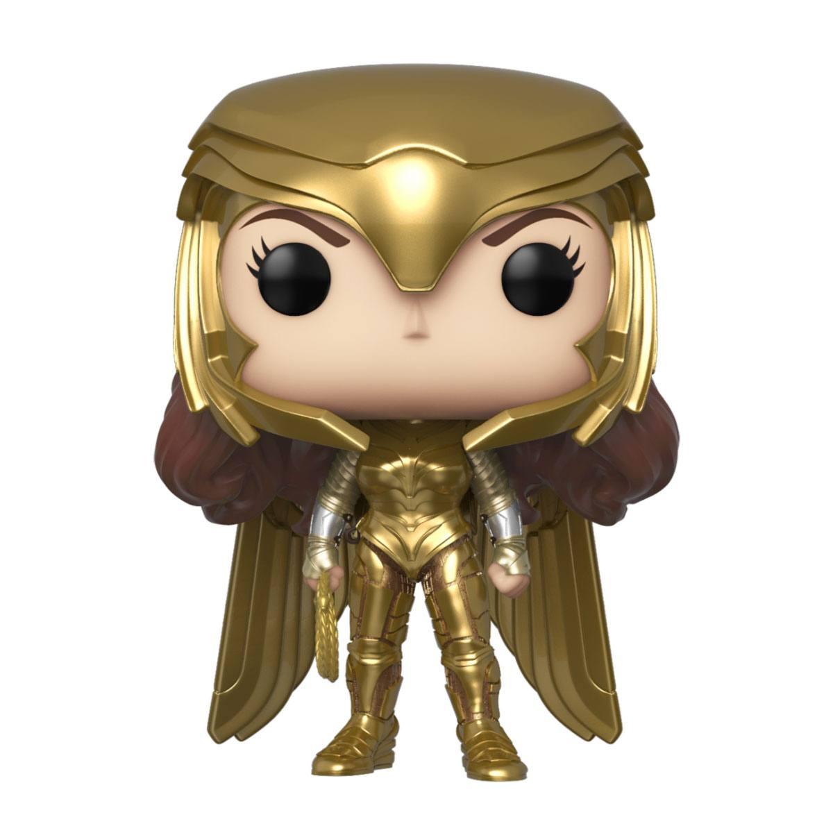 Wonder Woman 1984 POP! Movies Vinyl Figure Wonder Woman Gold Armour Power Pose 9 cm